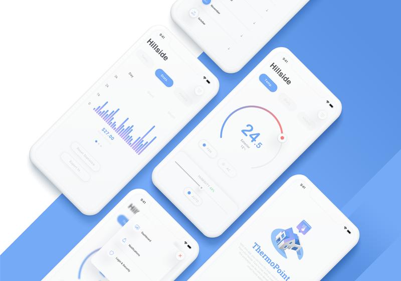 Template UI mobile app – Sketch